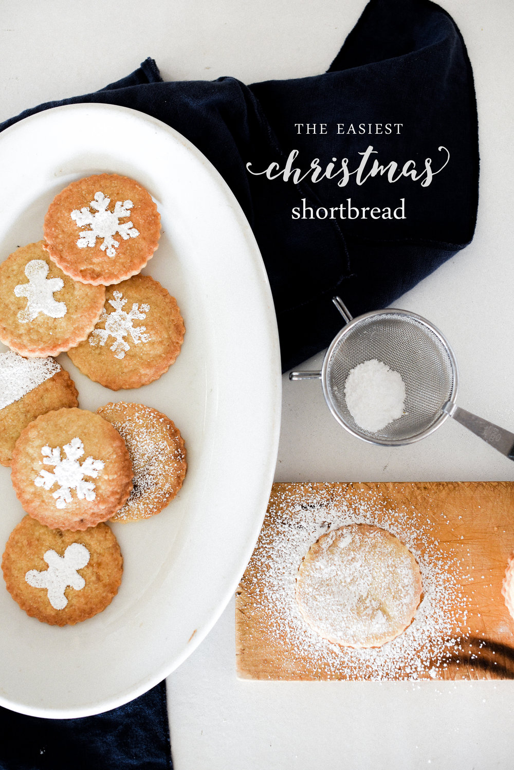 This Christmas shortbread is adaptable and easy! boxwoodavenue.com#christmascookies #holidaycookies