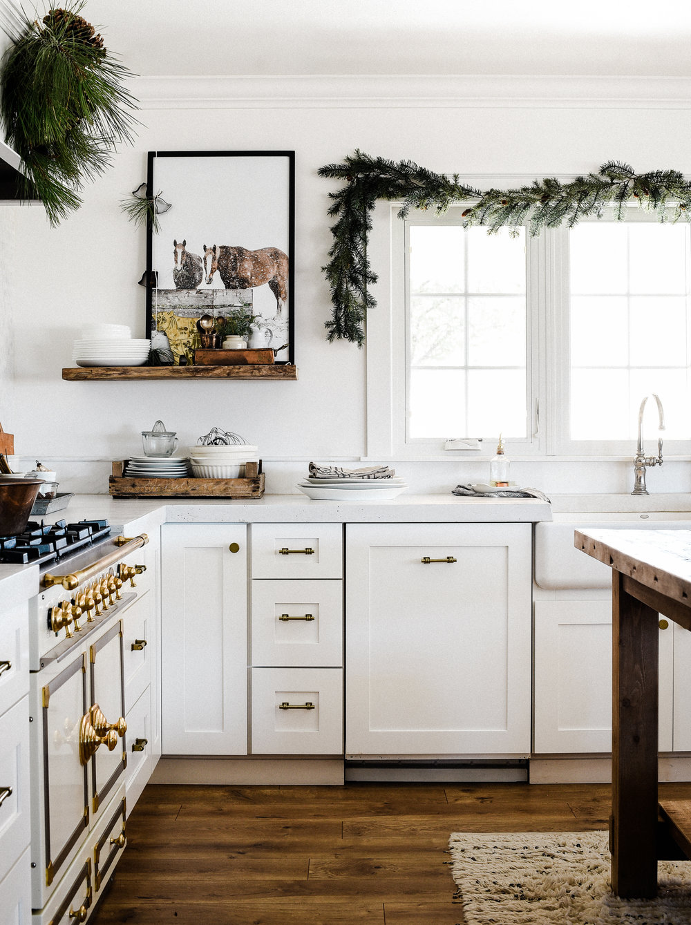 Farmhouse Christmas Decorating Ideas Our Christmas Kitchen