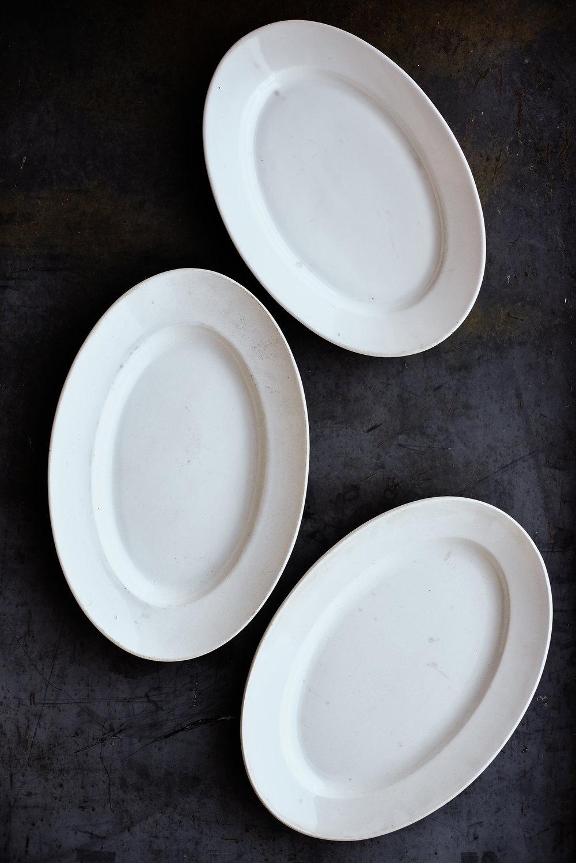 Vintage Ironstone Serving Platter