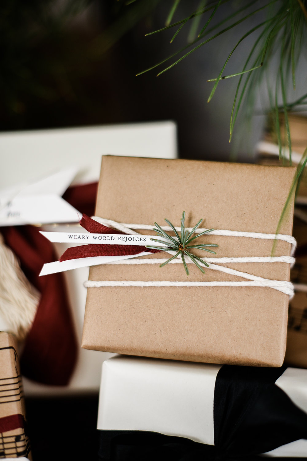 Cute Christmas gift tags & wrapping ideas boxwoodavenue.com | #christmaswrappingideas