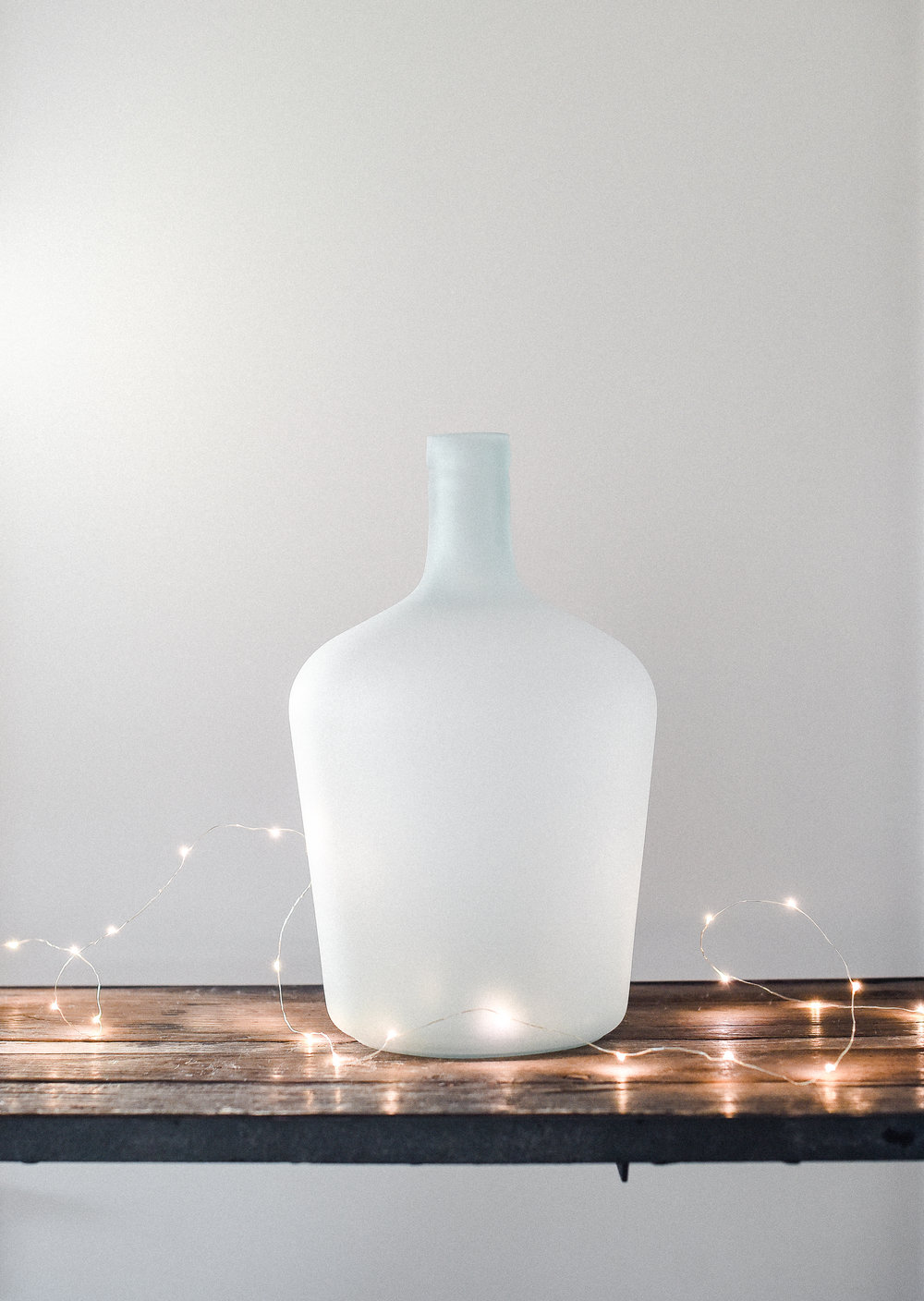 Frosted Demijohn