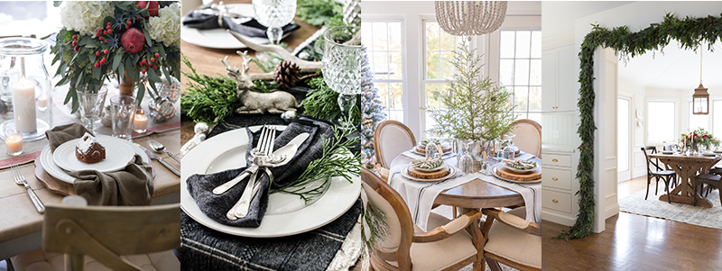 Christmas table ideas from boxwoodavenue.com