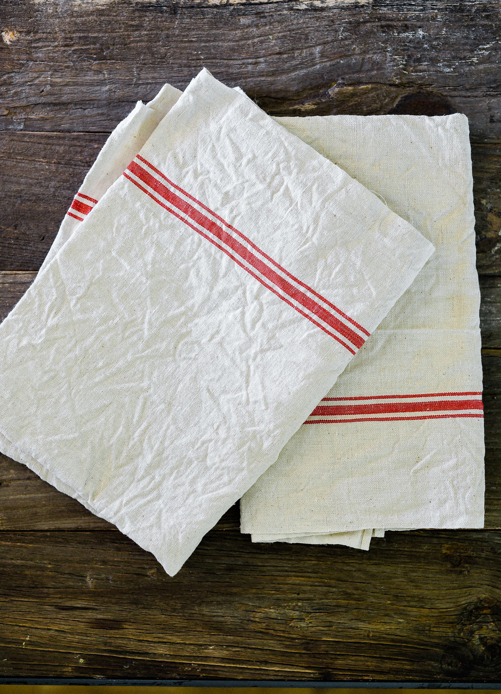 Vintage Striped Towels