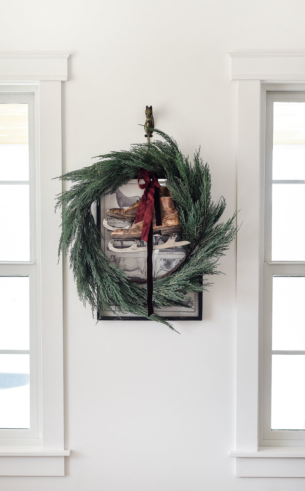 Vintage Christmas decor from boxwoodavenue.com