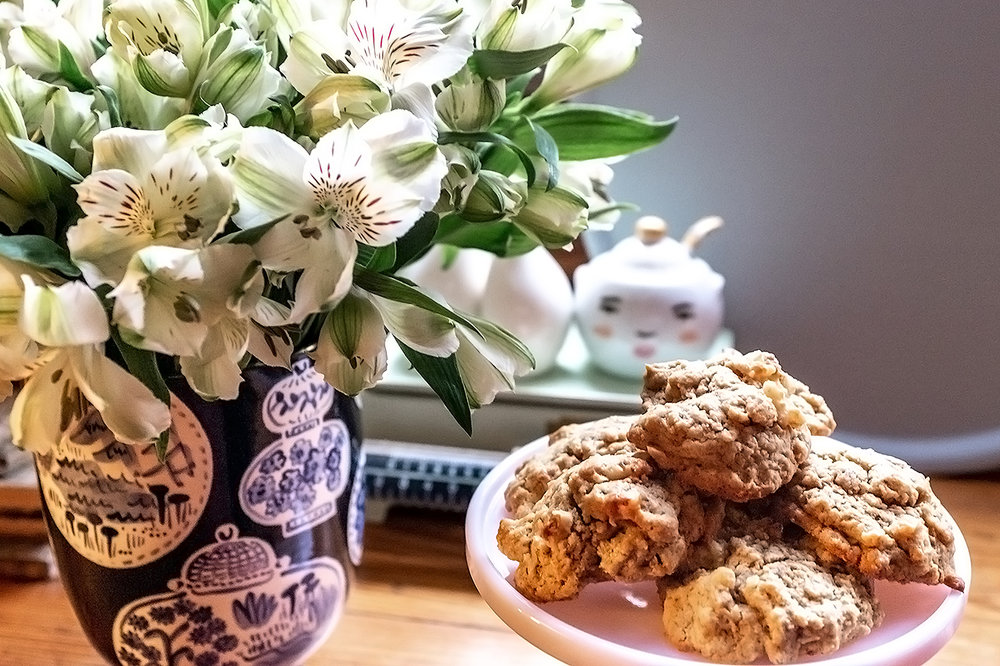 COFFEE WALNUT COOKIES