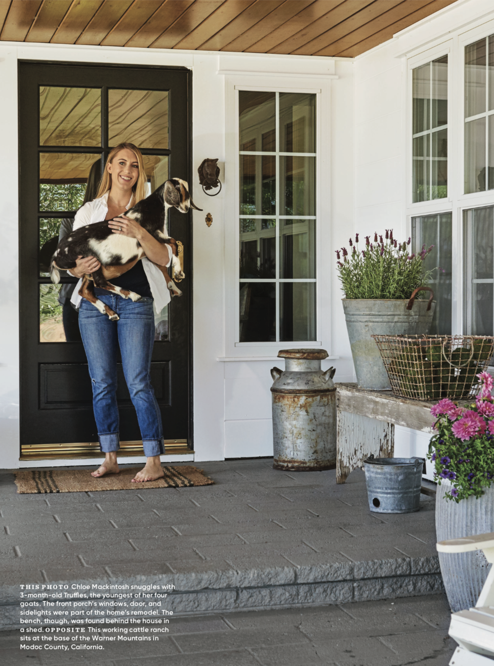 COUNTRY HOME MAGAZINE - Come see our home in this spring's Country Home Magazine!