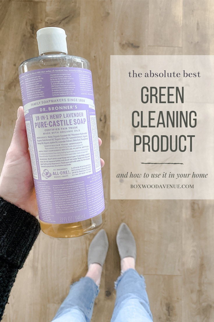 Truly the most amazing green cleaning product to clean ANYTHING in your home! Non-toxic, plant based, and biodegradable you will love this green cleaning solution! #greencleaning boxwoodavenue.com