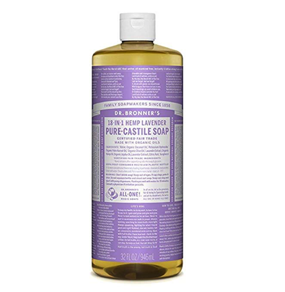 Castile soap - the best all purpose green clean!