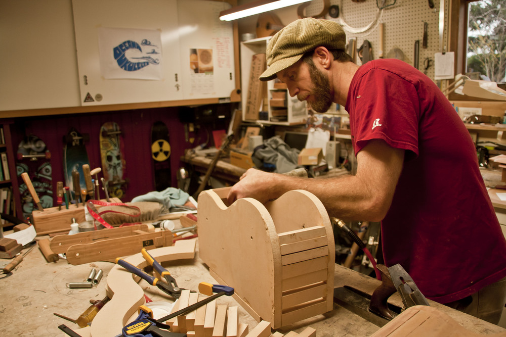 Building a form for the first Oceana Parlor Guitar