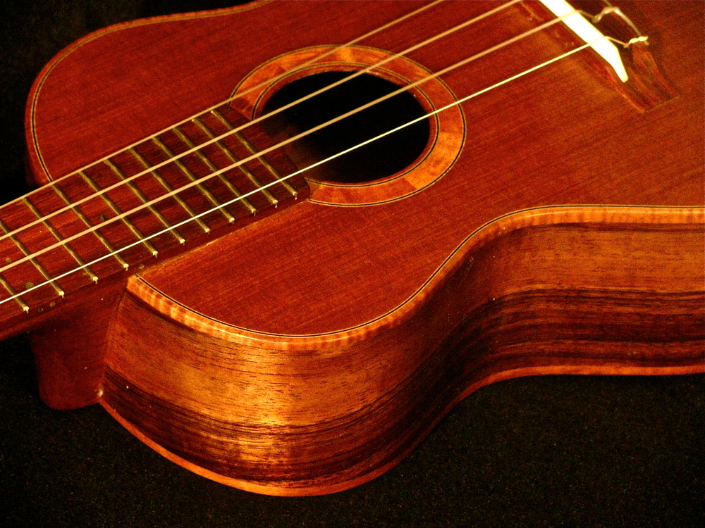 Koa Redwood tenor
