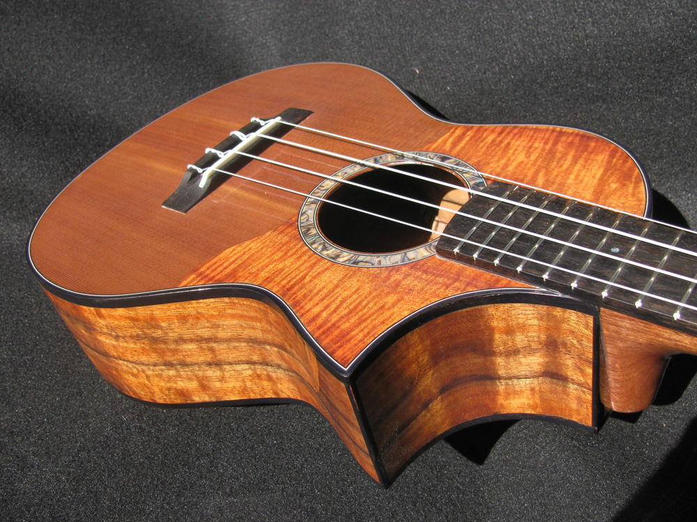 Cutaway  with Koa and Cedar top