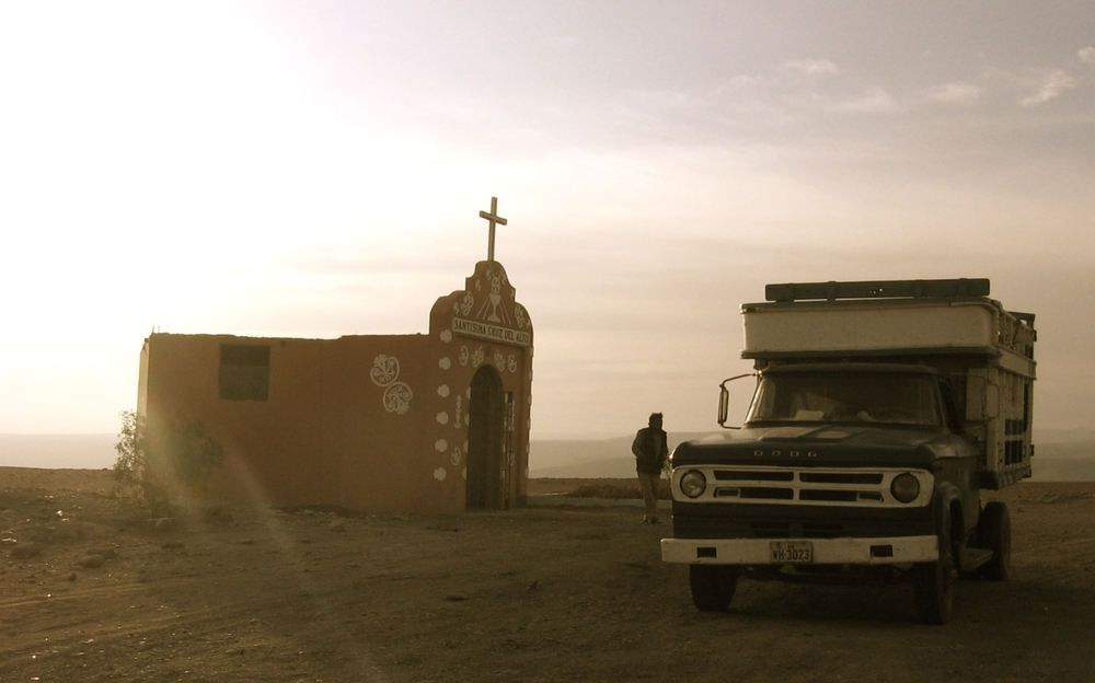 A road side chapel in Southern Peru. One of my favorite photos that we took on that trip!