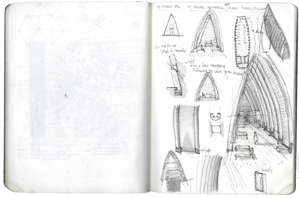 SCANDINAVIAN SKETCHBOOK