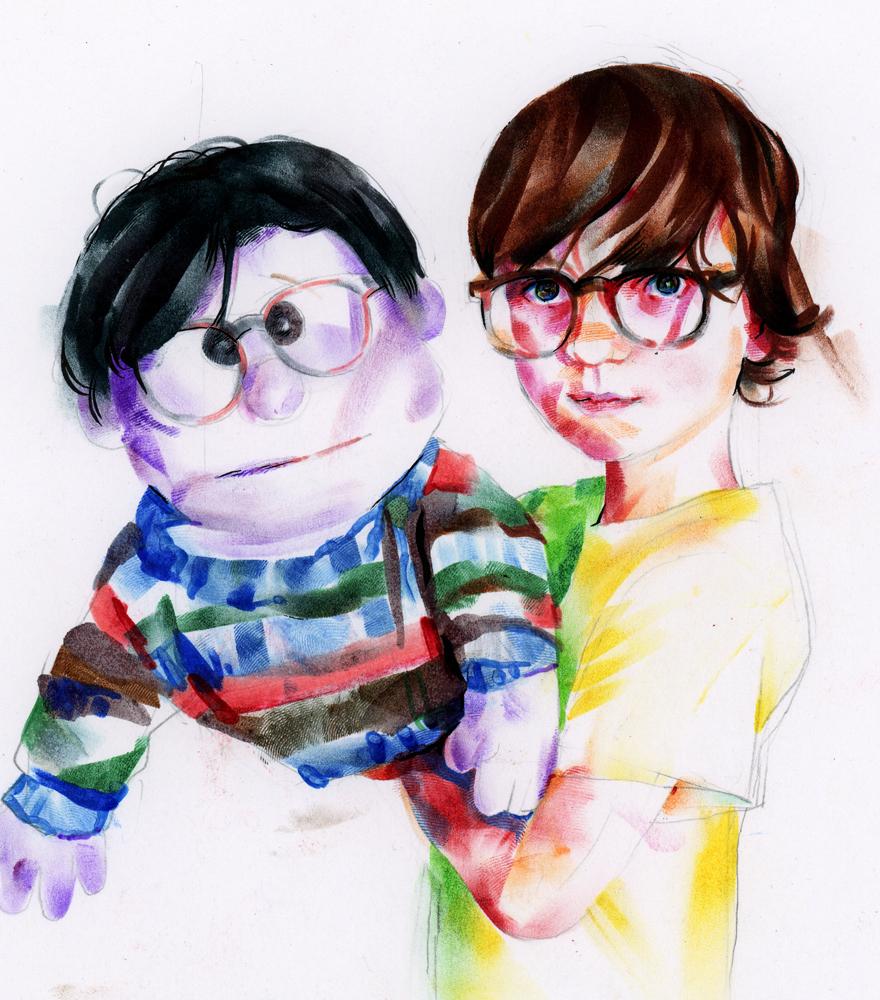 Elliot & Puppet