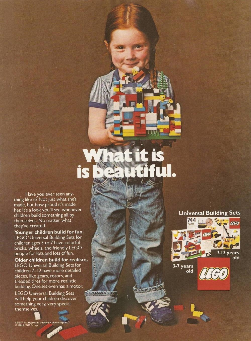 1981 Lego Ad