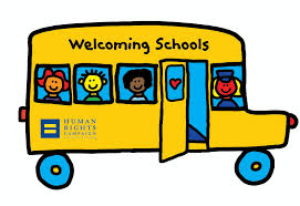 Click on the school bus to go to the Welcoming Schools site.