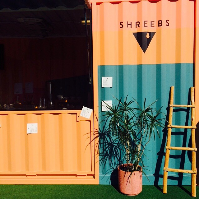 @shreebscoffee #popup in #dtla #laartsdistrict #4 in line. Congrats guys !!! Come check them out !