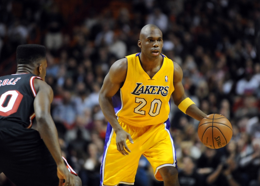 Jodie Meeks, a shooter with LA Lakers the past season, just signed with Detroit Pistons as a free agent