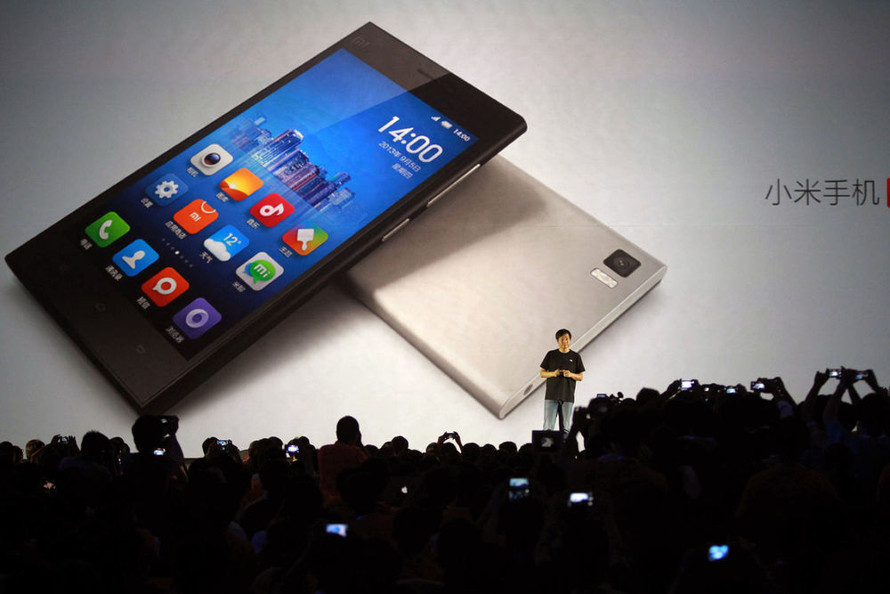 Xiaomi's presentation style that (in)famously reminds us of you-know-who