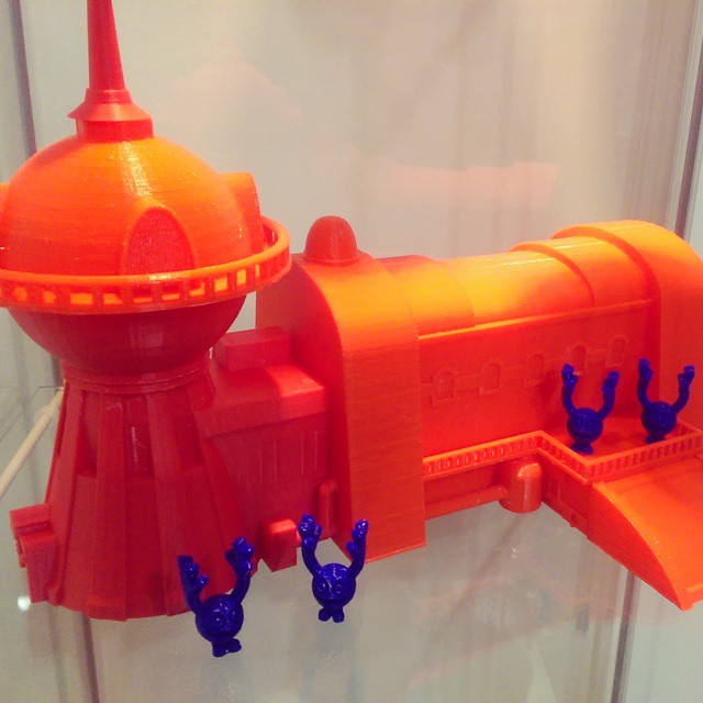 Planet Express from Futurama 3D printed, to be painted still but really enjoyed printing this one! #mission3d #m3d #naplesfl #3dprint #3dprintfl #3dprinting #futurama