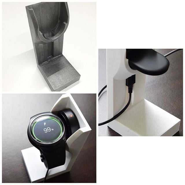 FREE GIFT!!!! SAMSUNG GEAR S2 CHARGING STAND If anyone would like to receive this absolutely free gift please contact us via our Facebook Www.facebook.com/mission3dprints. Like our page and send us a message.