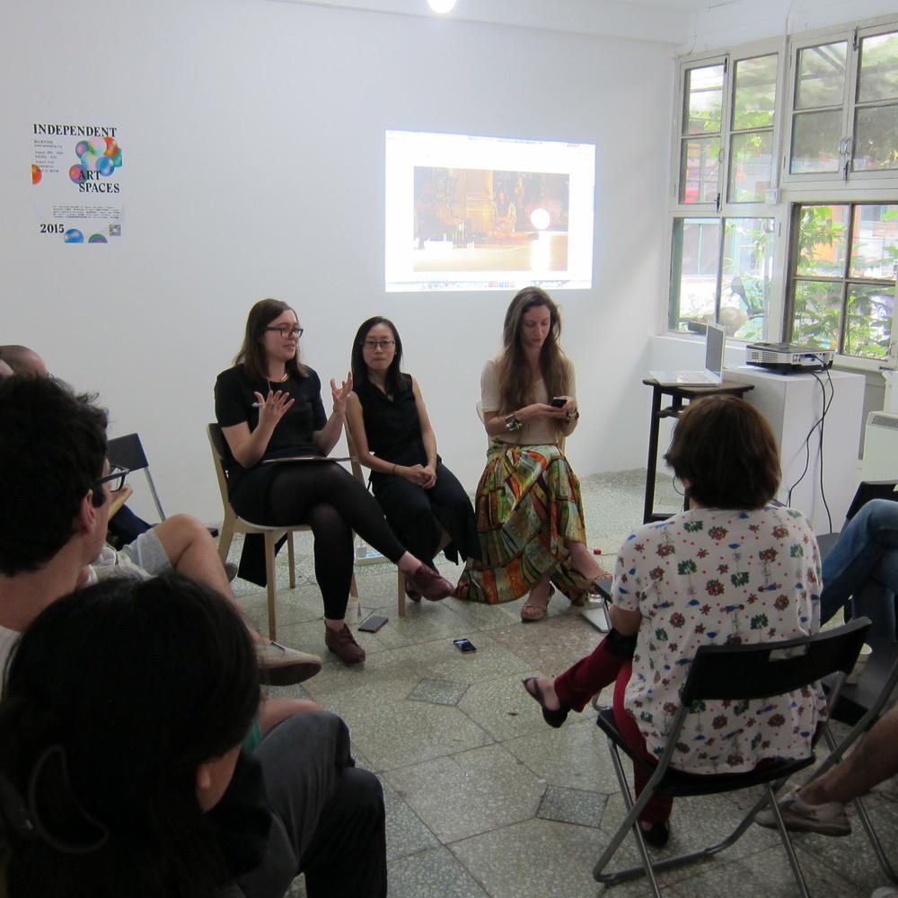 在 I:Project Space举行的独立艺术空间节研讨会