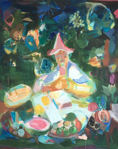 Wang Zi Yun - TreatmentAcrylic on canvas200 x 160 cm2017