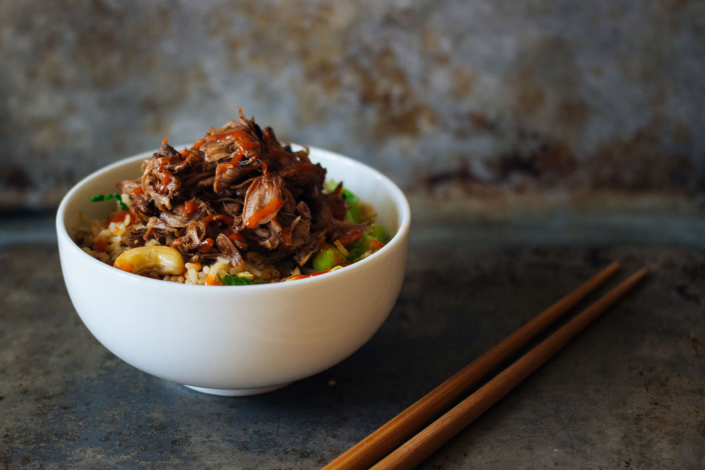 pulled hoisin jackfruit