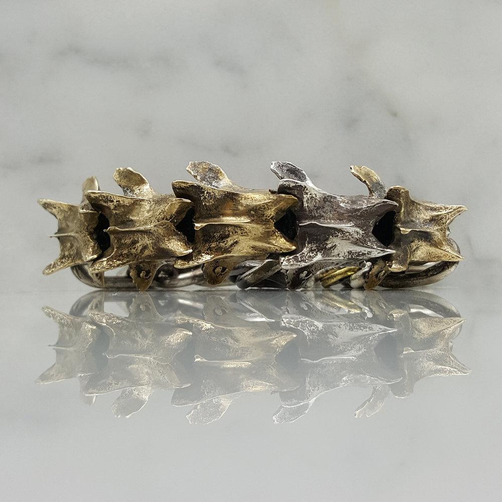 Vertebrae Bracelet Large Bronze.jpg