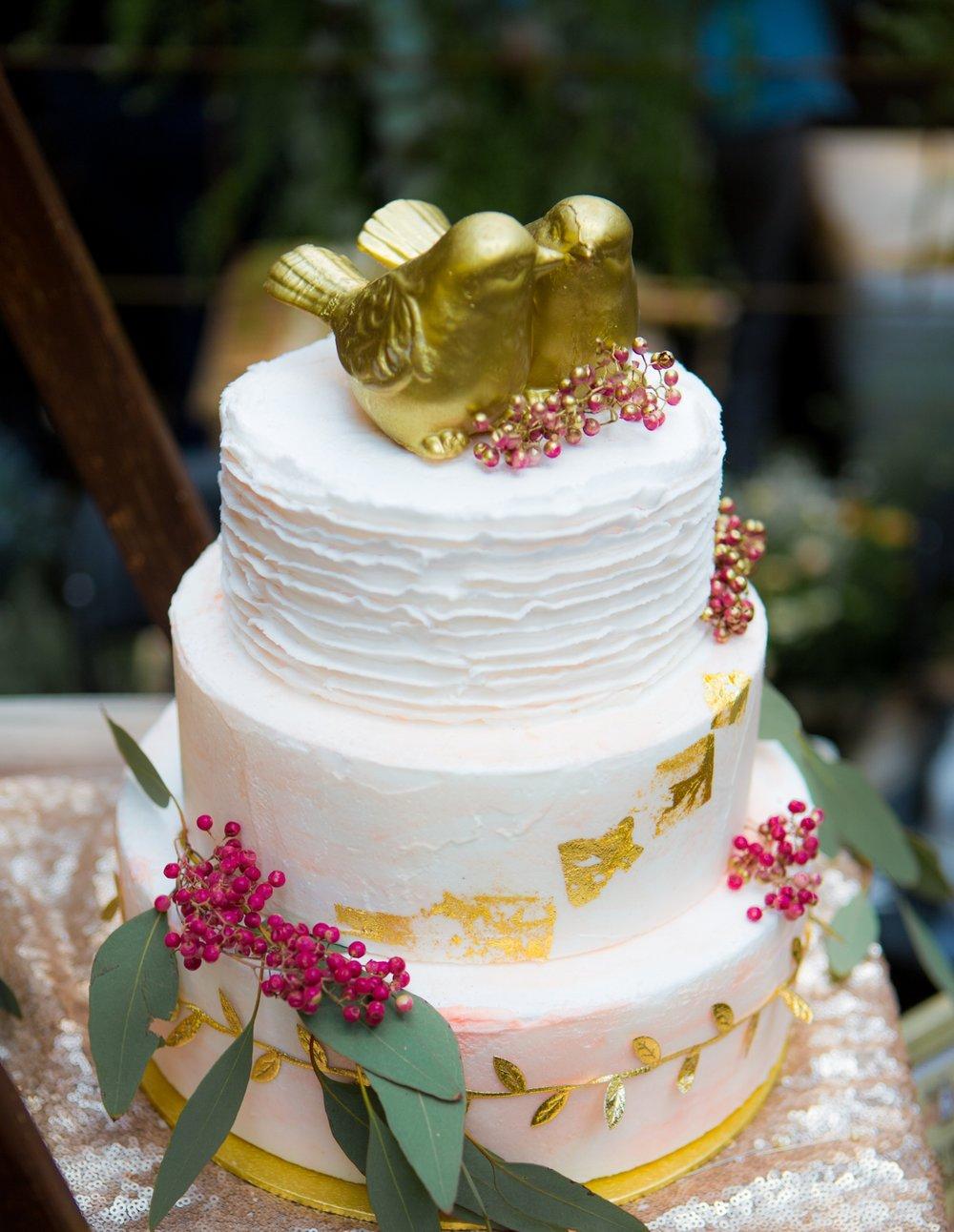 Gold Chocolate Bird Cake Topper.jpg