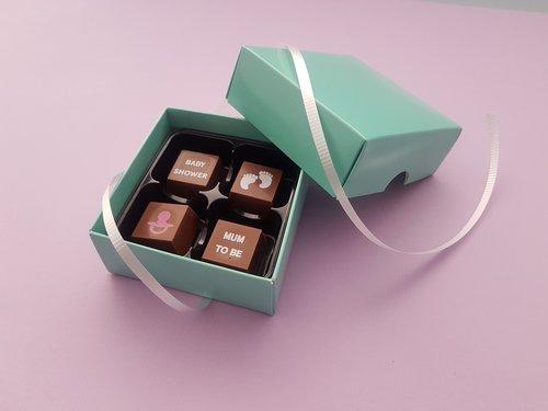 151e49f3fd2 Baby Shower Chocolate Message Box — The Cocoa Den