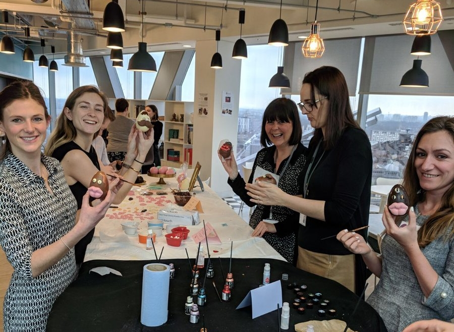 - We also have a huge amount of experience in the corporate space, from client gifting and events to team-building workshops or seasonal interactive pop-ups.