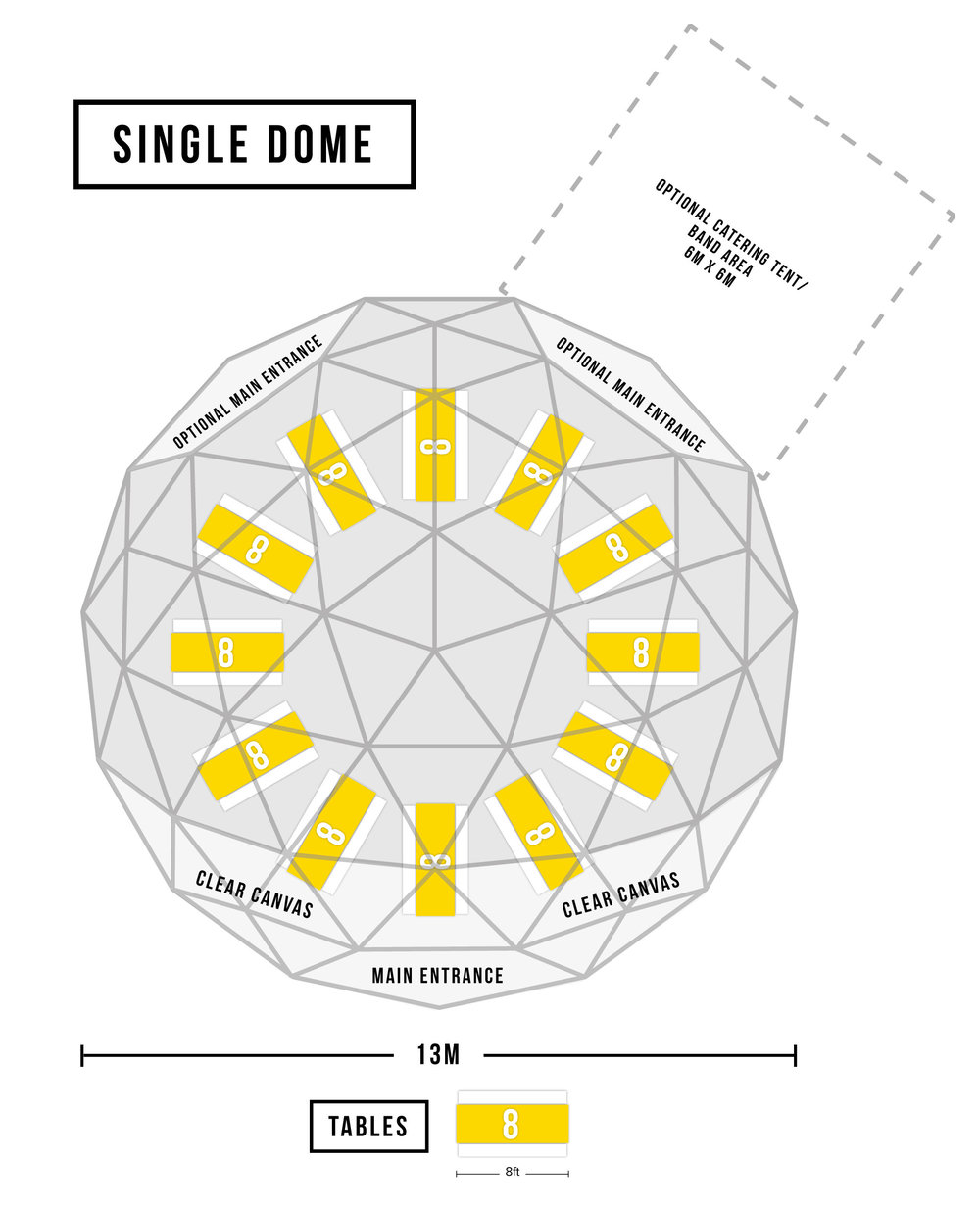 single dome floorplan 2