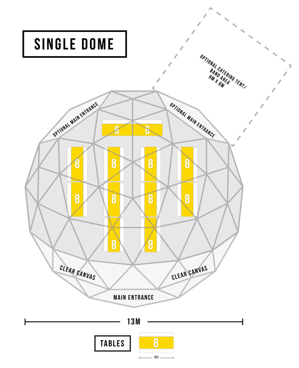single dome floorplan 1