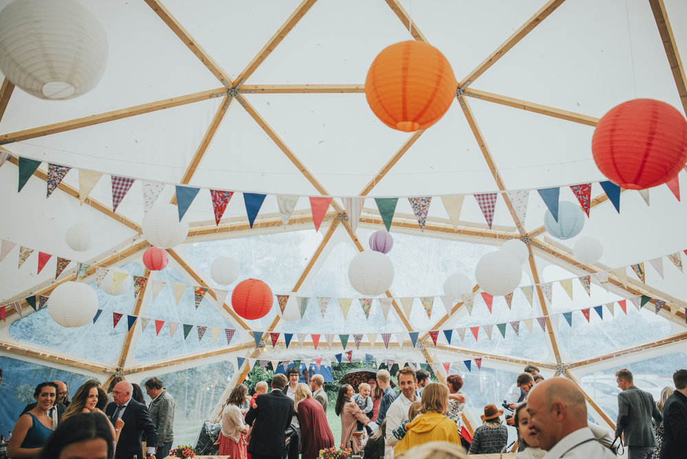 north devon dome wedding