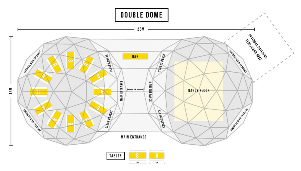 Double Dome Floor plan 2