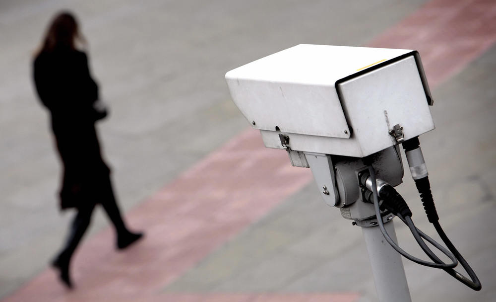 surveillance camera Tanger
