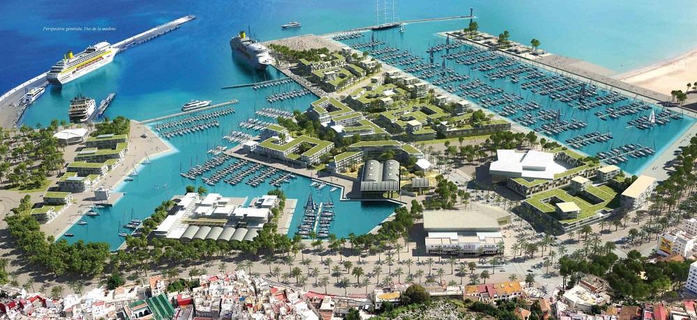 Tanger port de plaissance centre ville