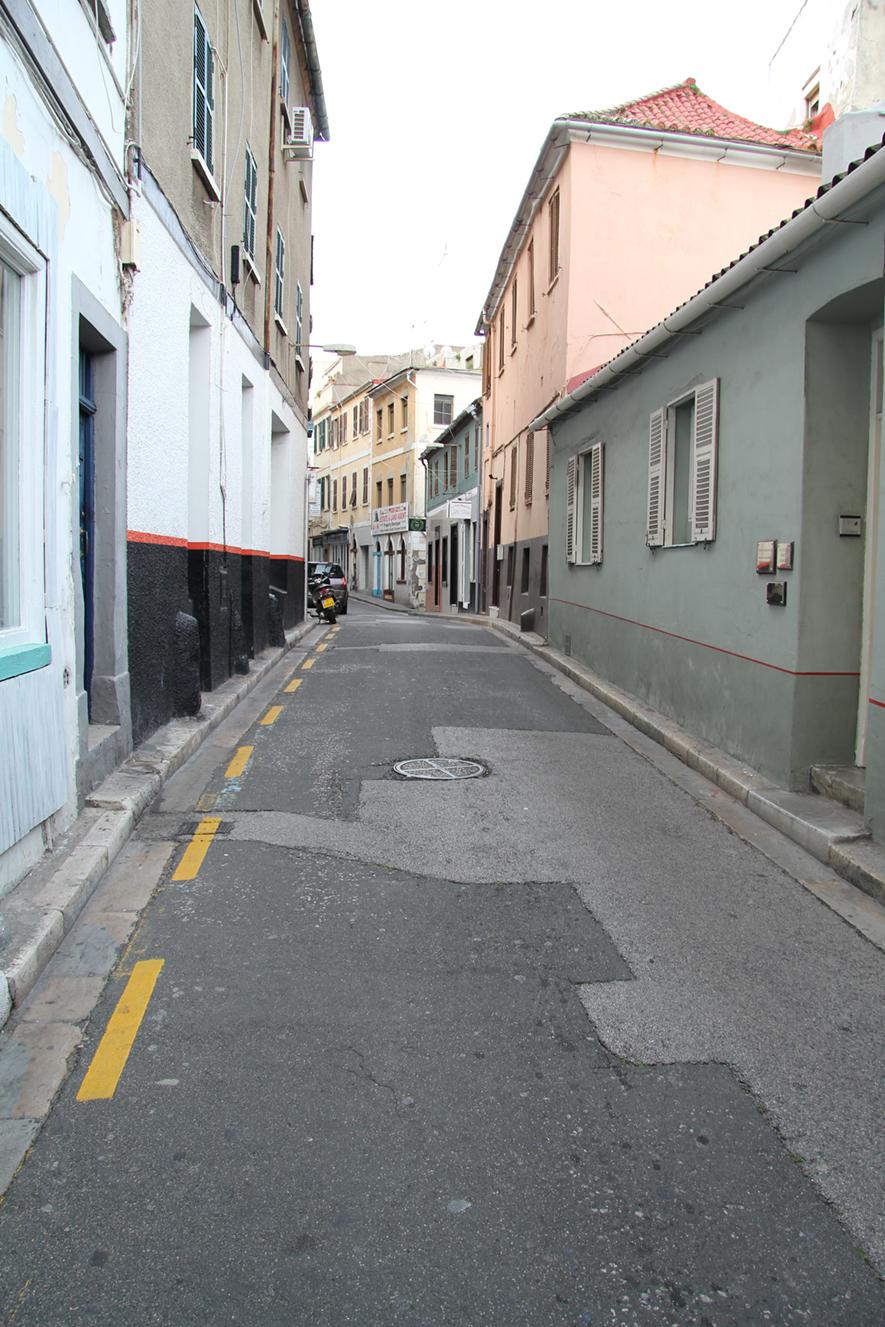 Morning journey in Gibraltar