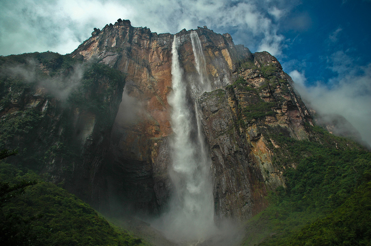 Air Terjun Angel (malaikat), Venezuela