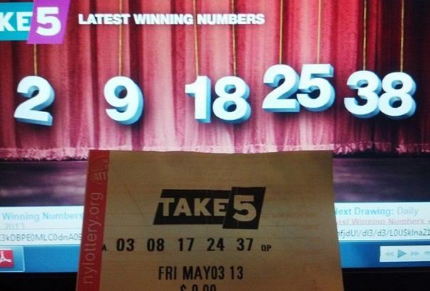 So unlucky in lottery