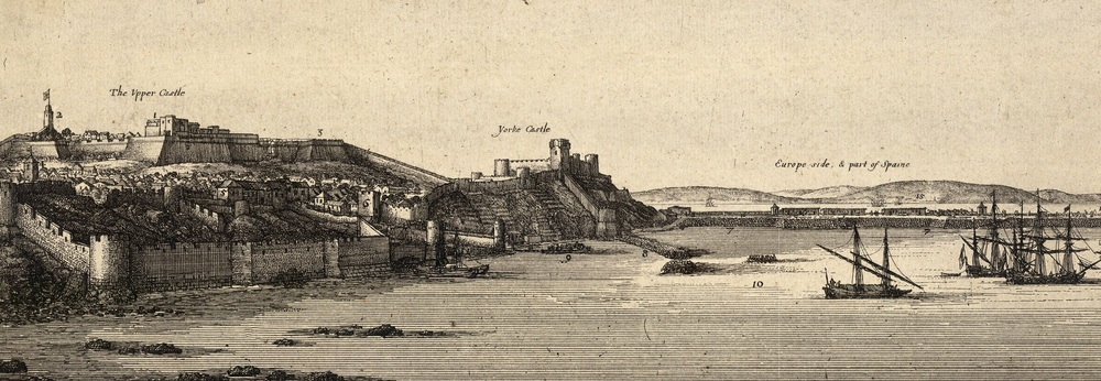 Wenceslas Hollar Tangier from the S.E.