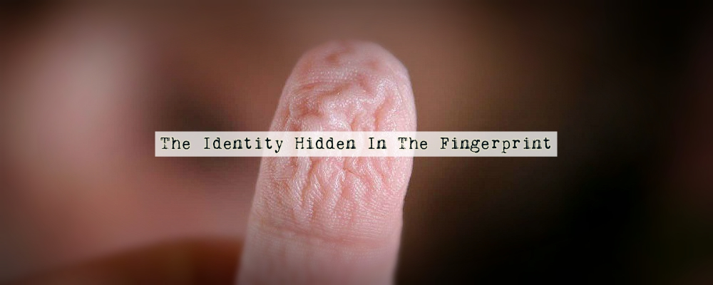 The Identity Hidden In The Fingerprint