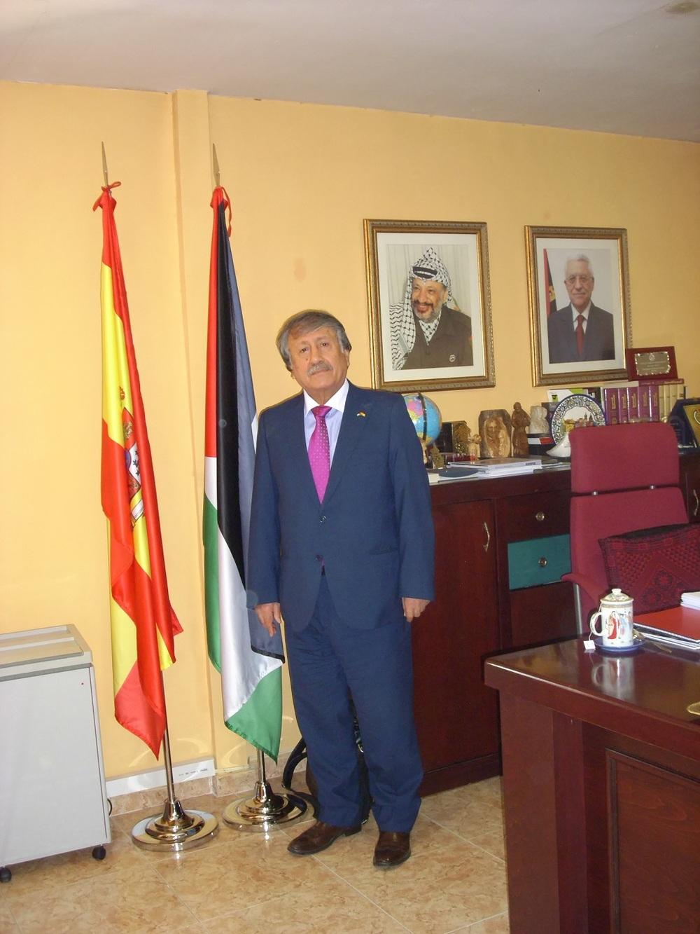 Embajador Musa Amer Odeh