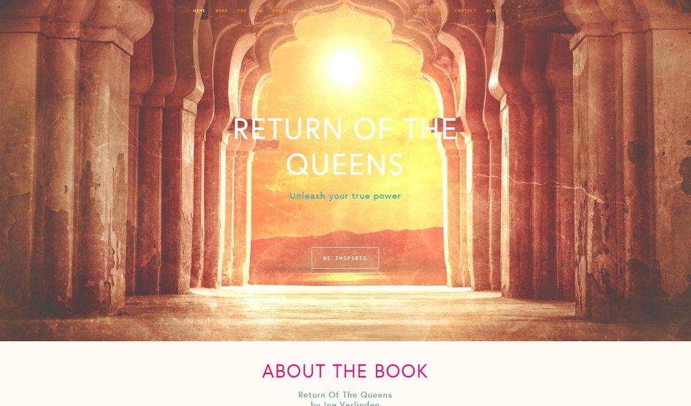 Boek van Ine Verlinden: Return of the Queens  www.returnofthequeens.org