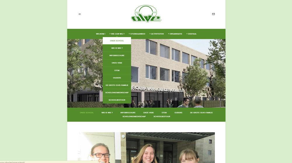 Het OLVE-college in Edegem en Mortsel  www.olve.be
