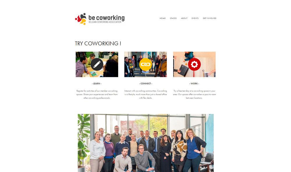 De Nationale Associatie van Coworking Spaces www.becoworking.be