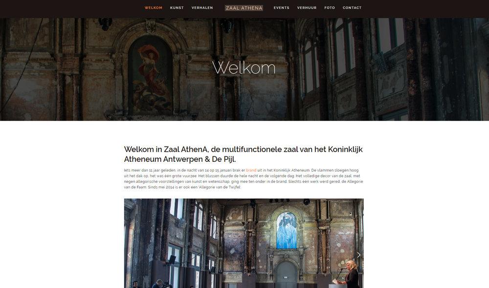 Zaal Athena in het Koninklijke Atheneum te Antwerpen www.zaalathena.be