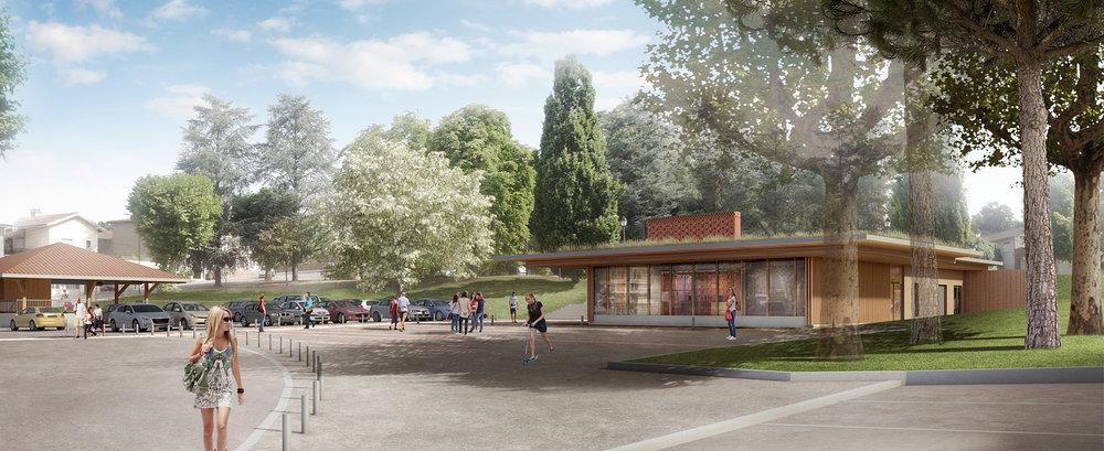 """Pavillon """"Tourisme en Dombes"""""""