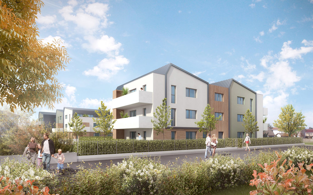 Logements collectifs Champ-Dunand